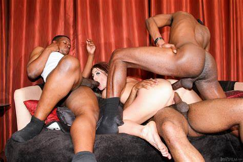 Cici Rodes Interracial Facial Orgy