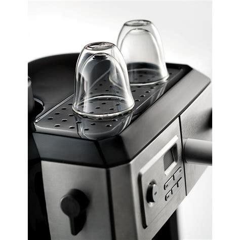 Nespresso vertuoplus coffee and espresso maker by de'longhi with aeroccino, grey & nespresso vertuoline best seller coffee capsule. DeLonghi BCO330T Combination Drip Coffee and Espresso Machine - VIP Outlet
