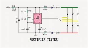 Motorcycle Regulator  Rectifier Tester Circuit