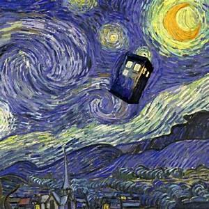 Starry Night Tardis Tattoo   www.pixshark.com - Images ...