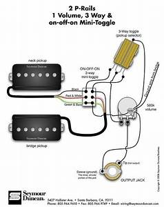 3 Wire Guitar Pickup Wiring Diagram