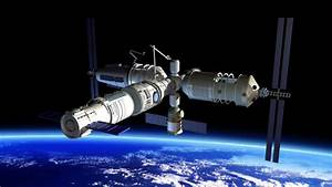 Chinese Space Station Tiangong- 2 - Pics about space