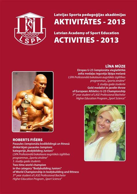LSPA aktivitātes 2013 - LASE activities 2013 by Jānis ...