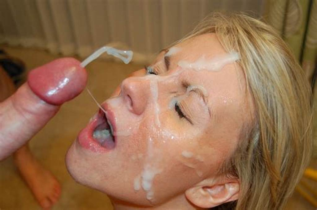 #Cumshot #Cum #Covered #Face #Close #Up
