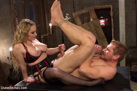 Pegging Lezbi Guy Bdsm aiden starr in divinebitches sexual slavery september 10