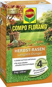 Rasen Düngen Herbst : compo floranid herbst rasen langzeit d nger 3 kg ~ Watch28wear.com Haus und Dekorationen