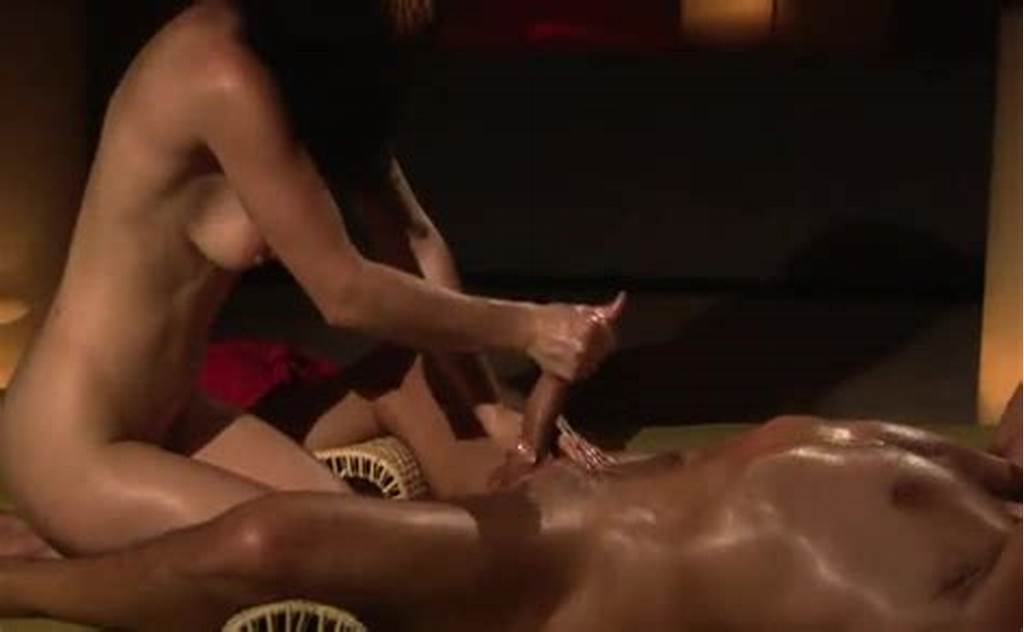#Erotic #Girl #On #Guy #Massage #With #Handjob