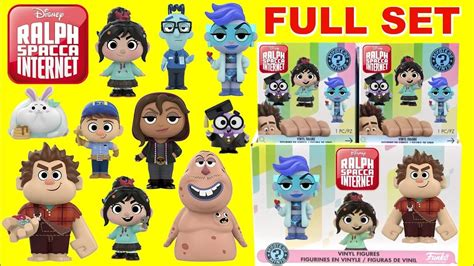 Disney Ralph Breaks the Internet Action Figure 2 Sets
