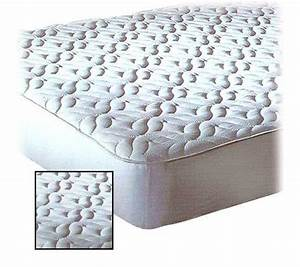 quilted top mattress pad twin xl qvccom With best quilted mattress pad