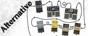 Alternative Rock Guitar Effects Combo