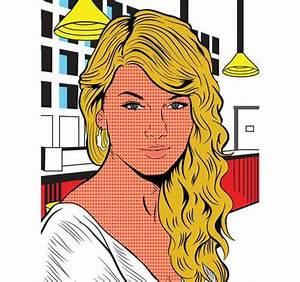 Pop art Taylor Swift Lichtenstein style | Celebrity Pop ...