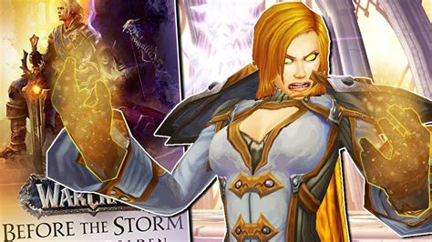 Lately i've done a lot of sketching, designing 3 new pins i am really happy i finally finished this painting of calia menethil. Calia Menethil and The Lightforged Forsaken in BfA: Before The Storm Pre...