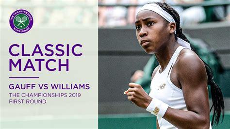 Jun 09, 2021 · coco gauff's grand slam glory will have to wait. Coco Gauff vs Venus Williams | Wimbledon 2019 first round ...