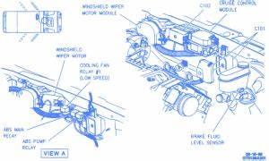 Oldsmobile Aurora 1996 Electrical Circuit Wiring Diagram