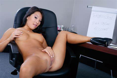 Naughty Sex At The Chair Asa Akira & Alec Knight In Fervent Bed