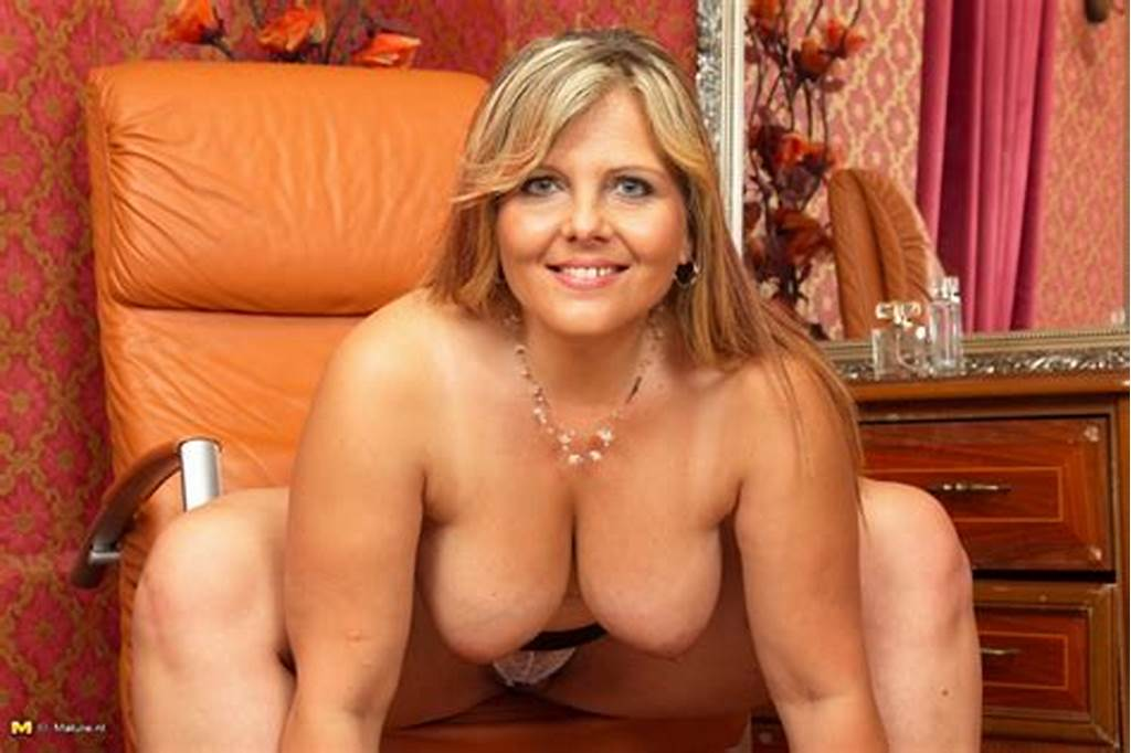 #Big #Breasted #Housewife #Playing #With #Herself