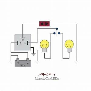 5 Pin Led Flasher Relay Wiring Diagram