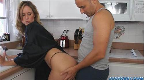 Slutty Stepsister Massaging Her Step Sons Little Penis #Jodi #West #Mother
