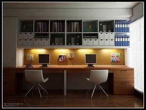 modern home office furniture designs decoseecom With home office interior design ideas 2
