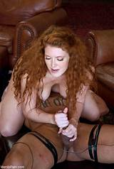 Hot redhead dominatrix clips