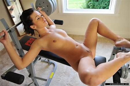 Out Teen Working Nude