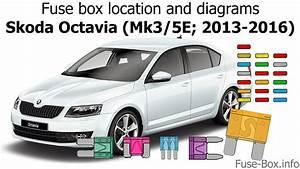 Fuse Box Location And Diagrams  Skoda Octavia  Mk3  5e