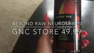 Workout Supplement Neuro Shred Beyond Raw Review