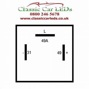 Ferrari 12v 3 Pin Electronic Flasher    Hazard Relay Part  61048000  U2013 Classic Car Leds Ltd