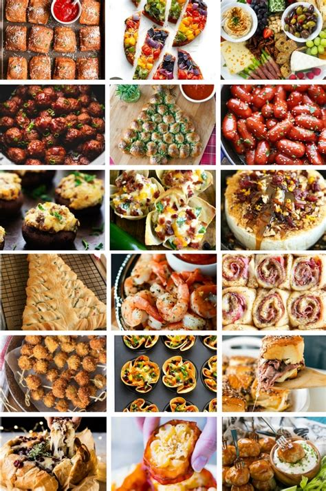 34 christmas appetizer ideas.learn how to make easy appetizers for your holiday party season. 60 Christmas Appetizer Recipes - Dinner at the Zoo