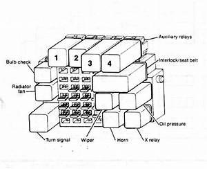 Rabbit   Caddy 1981 Fuse Box Diagram