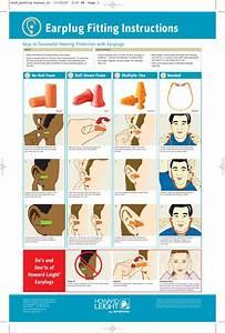 Earplug Fitting Instructions