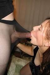 Sexy girls in stockings sucking cock