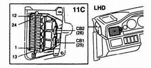 Volvo 960  1995 - 1997  - Fuse Box Diagram
