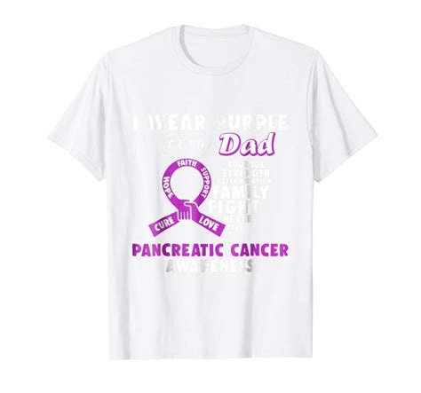Buy Now I Wear Purple For My Dad Pancreatic Cancer