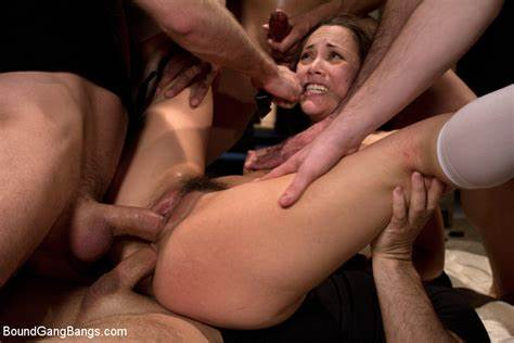 Girls Wants To Lick Gangbang Dicks For Her Birthday