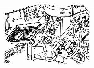 Dodge Avenger Engine Control Module Bracket  2 4 Liter