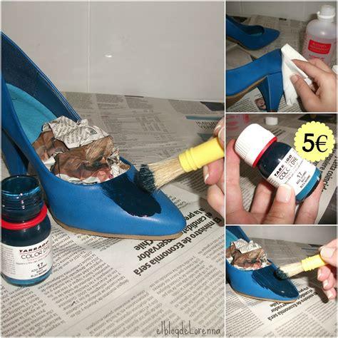 El blog de Lorenna: Cómo tintar zapatos en casa