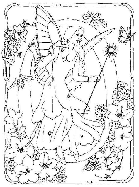 Collection Of Fairy Alphabet Coloring Pages Alphabet