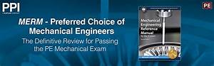 Ppi Mechanical Engineering Reference Manual For The Pe