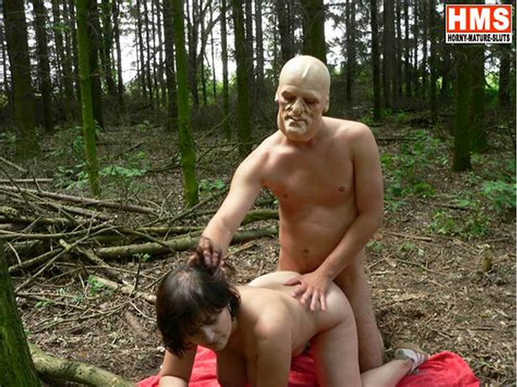 #Chunky #Mature #Fucked #By #A #Masked #Man #In #The #Woods