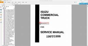 Isuzu Gmc Cabover Service Manuals From 1996