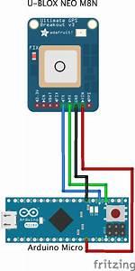 Micro Ublox M8n Gps Glonass Wiring Diagram