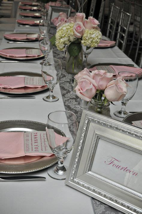 53 Best Ideas Wedding Decorations Pink Silver Pink