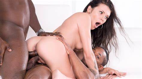 Interracial Double Pussy Porn Feat