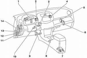 Wiring Schematic Diagram  2006 Toyota Rav4 Instrument