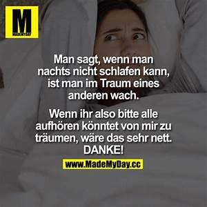 Nicht Einschlafen Können : man sagt wenn man nachts made my day ~ A.2002-acura-tl-radio.info Haus und Dekorationen