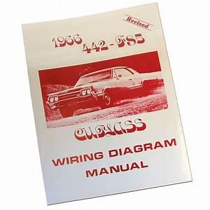 1966 Oldsmobile Cutlass  442 Wiring Diagram Manual
