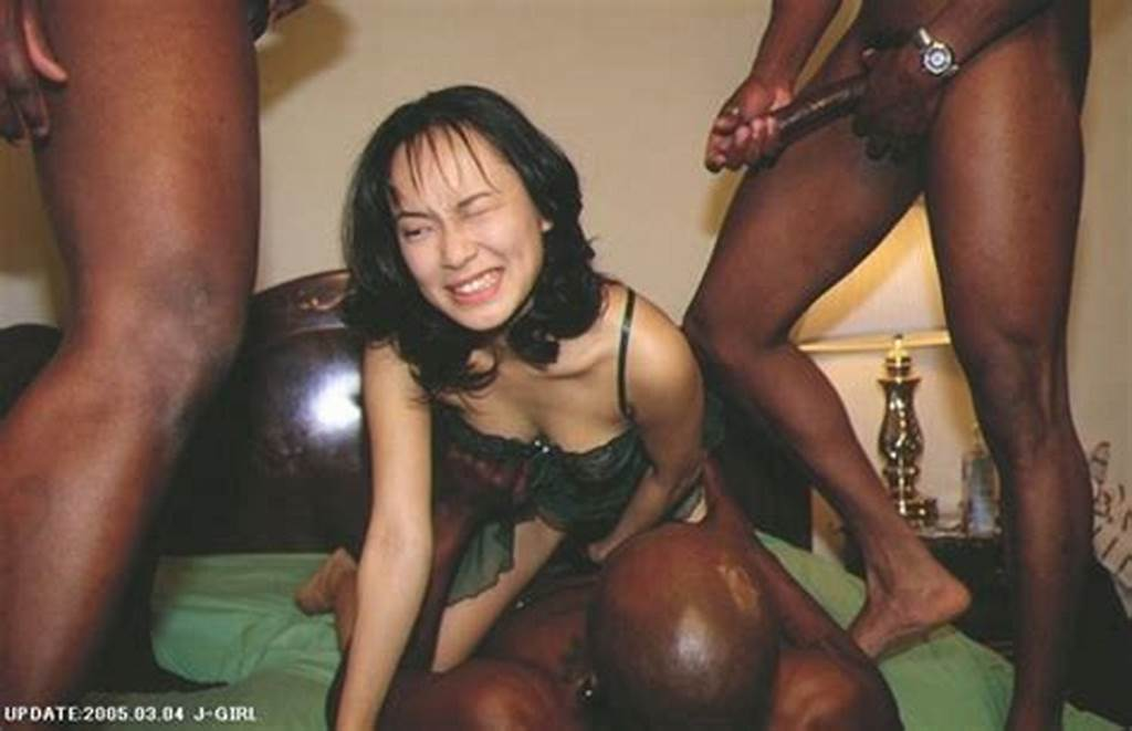 #Interracial #Picture #Asian #Woman #In #Gangbang #Sex #With #Black #Men