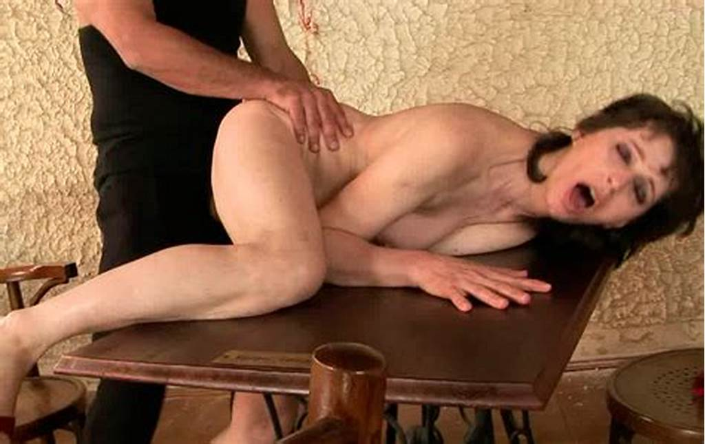 #Obedient #Brunette #Whore #Sybil #Hawthorne #Is #Forced #To #Drink