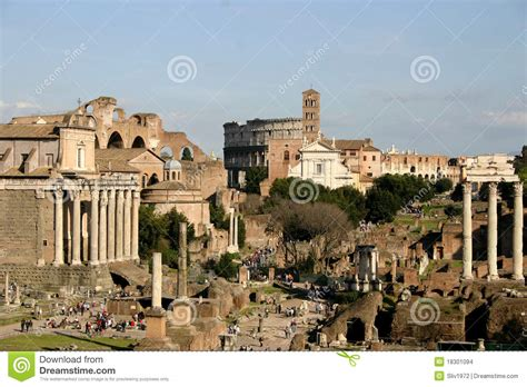 Imperial Forums In Rome Stock Images - Image: 18301094